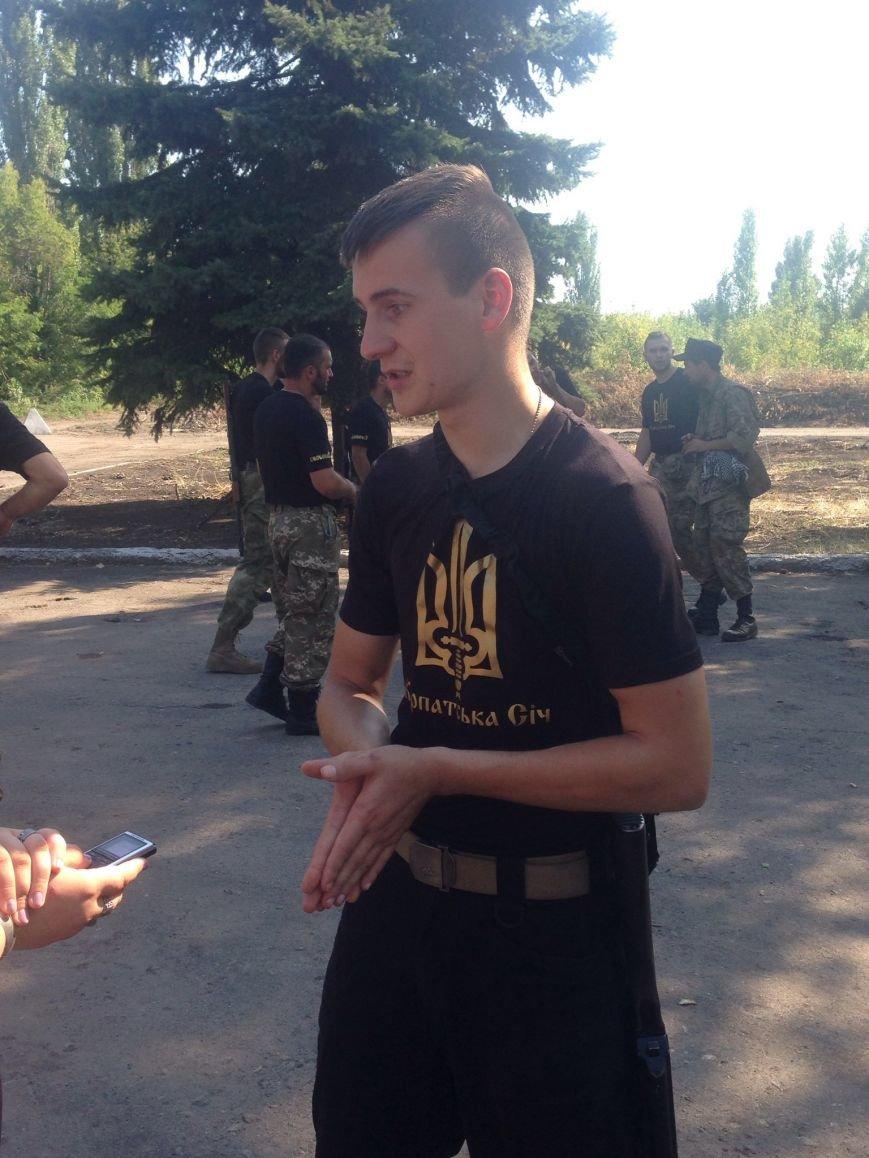В Красноармейске приняли присягу новобранцы отдельной роты «Карпатська Січ» (фото) - фото 5