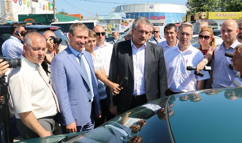 Аксенов проверил работу Керченской переправы и остался доволен результатом (ФОТО) (фото) - фото 7