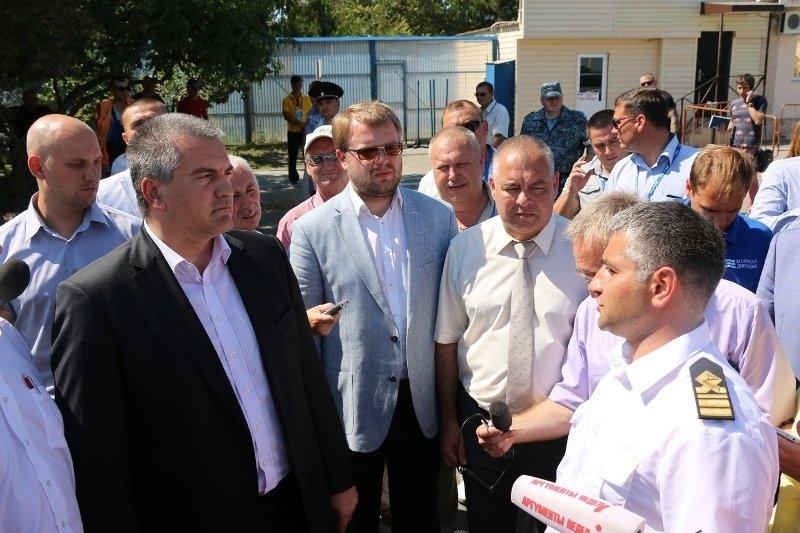 Аксенов проверил работу Керченской переправы и остался доволен результатом (ФОТО) (фото) - фото 6