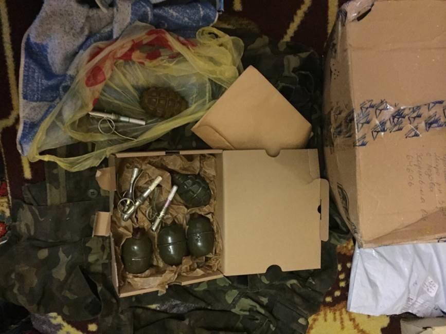 Военный из Луганска выслал по почте гранаты своей племяннице в Харьков (ФОТО) (фото) - фото 1