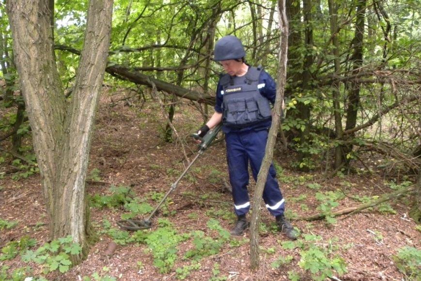Под Черниговом «черные археологи» нашли артснаряды (фото) - фото 1