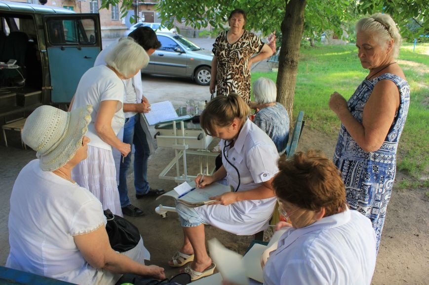 Мобильная амбулатория на улицах Артемовска, фото-1
