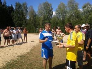 Сьомий чемпіонат області з пляжного футболу (фото) - фото 1