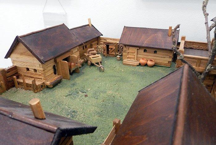 В Гомеле откроется выставка архитектурных макетов из дерева (фото) - фото 1