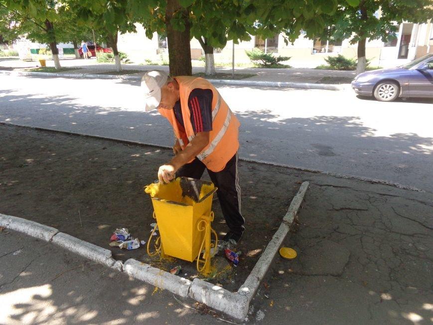В Красноармейске преобразились мусорные контейнеры (фото) - фото 1