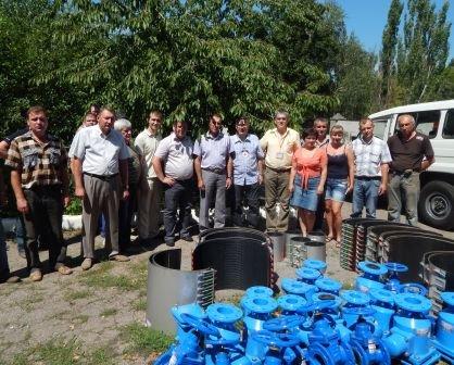 Краматорскому водоканалу привезли гуманитарку (фото) - фото 1