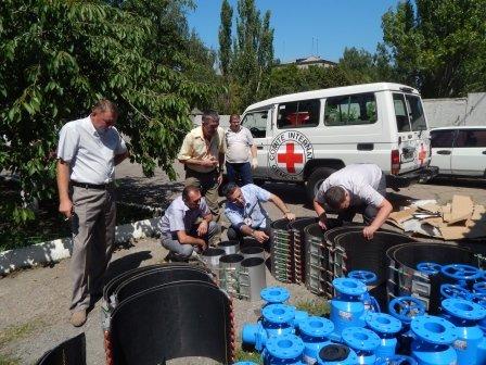 Краматорскому водоканалу привезли гуманитарку (фото) - фото 2