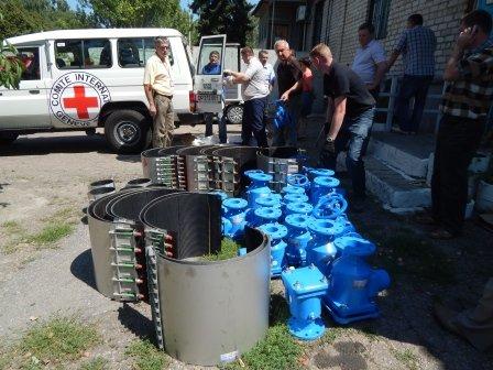 Краматорскому водоканалу привезли гуманитарку (фото) - фото 3