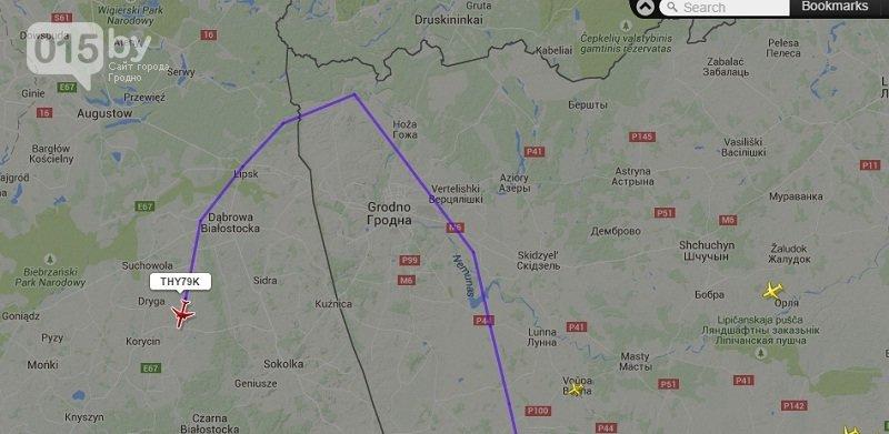 Из-за угрозы теракта турецкий самолет сбросил авиационное топливо возле Гродно (фото) - фото 4