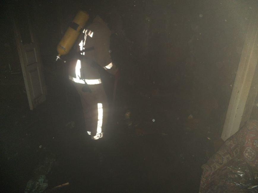В Краматорске при пожаре погиб мужчина (фото) - фото 1