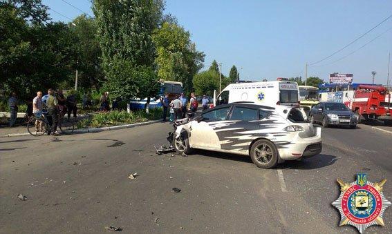 ДТП в Димитрове: 6 пассажиров госпитализированы (фото) - фото 2