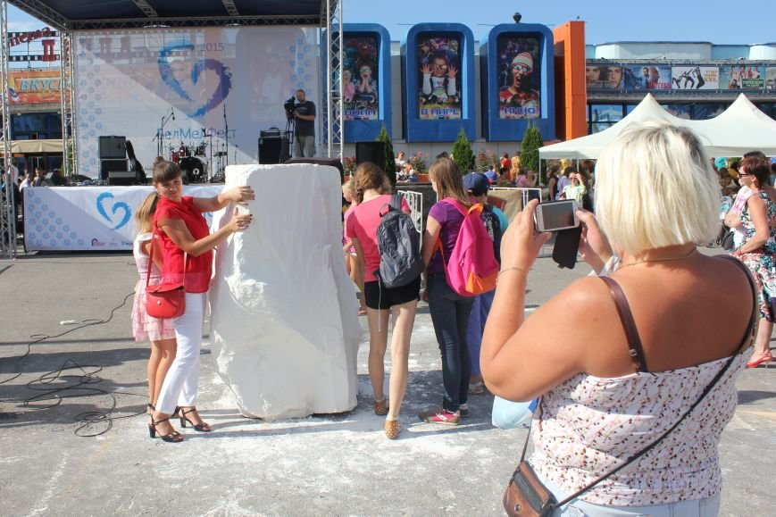 В Белгороде прошёл фестиваль мела, фото-4