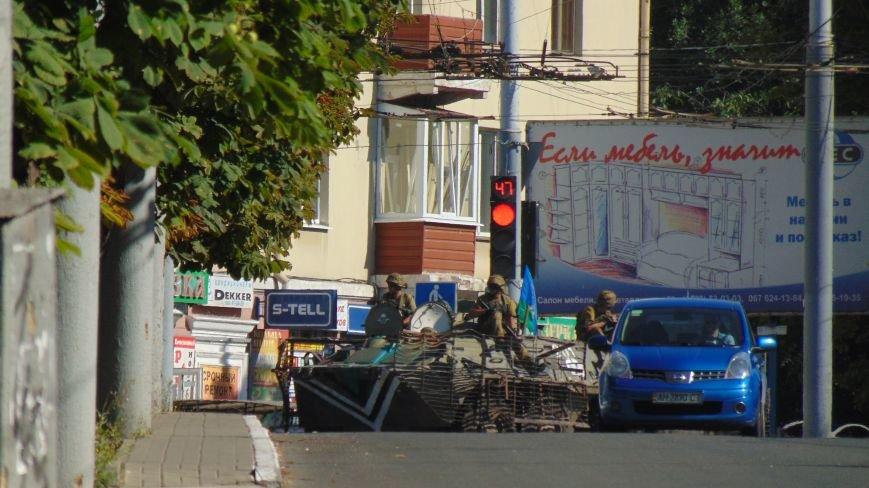 В Мариуполе наблюдается активное перемещение военной техники (ФОТОФАКТ) (фото) - фото 1