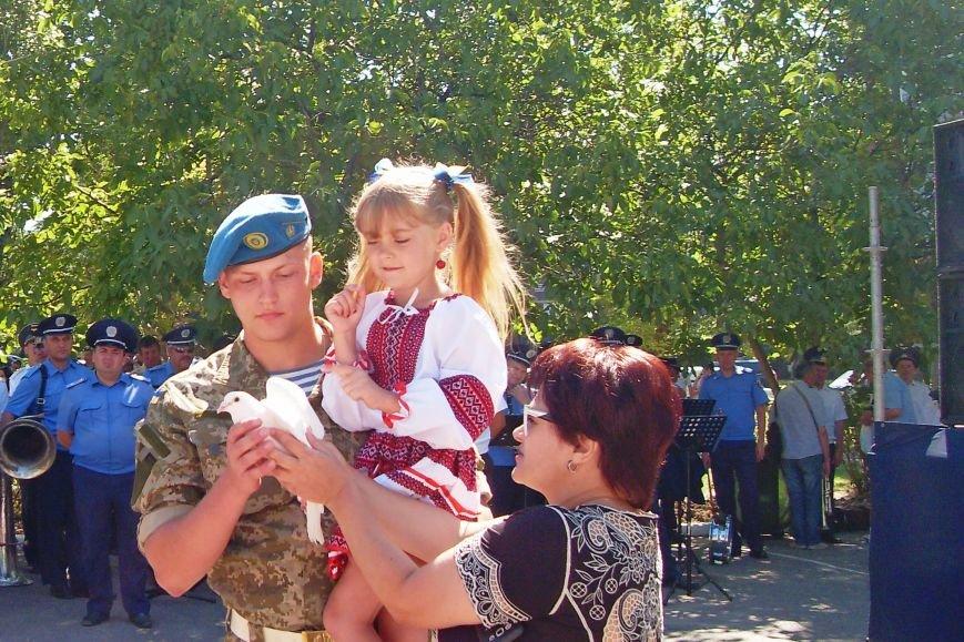 Николаевцы почтили память десантников, погибших на Донбассе (ФОТО) (фото) - фото 16