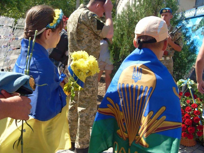 Николаевцы почтили память десантников, погибших на Донбассе (ФОТО) (фото) - фото 10