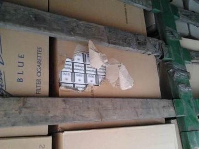 До  «ДНР» не доехали четыре грузовика с сигаретами и алкоголем (ФОТО) (фото) - фото 1