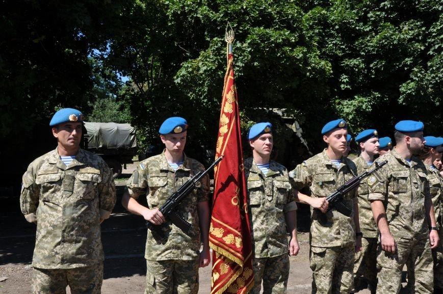 Президент Петр Порошенко приезжал в Донецкую область поздравить десантников (ФОТО и ВИДЕО), фото-5