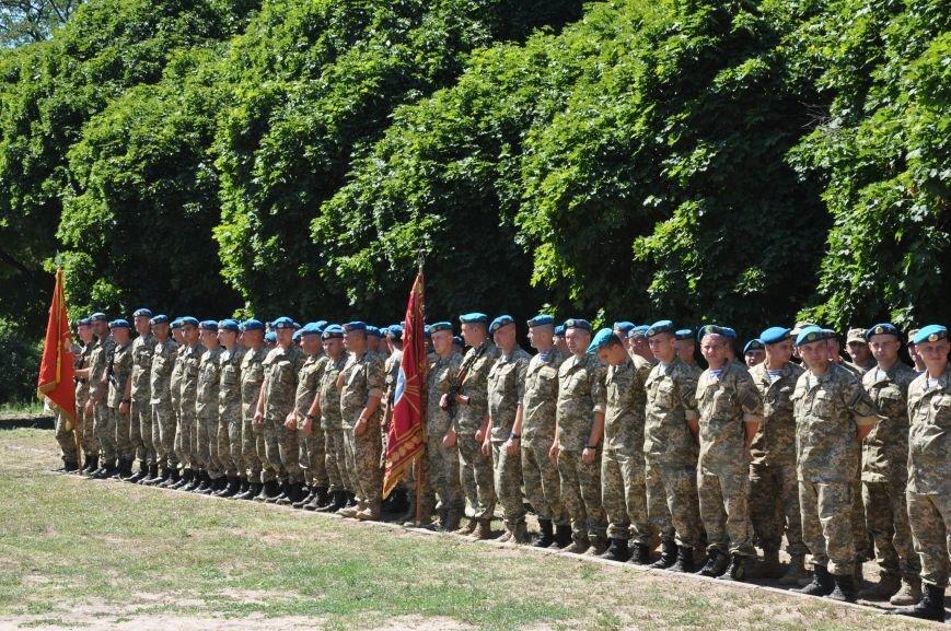 Президент Петр Порошенко приезжал в Донецкую область поздравить десантников (ФОТО и ВИДЕО), фото-4