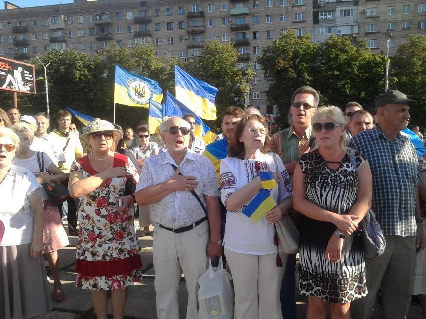 В Мариуполе прошел митинг против демилитаризации Широкино (ФОТО+ВИДЕО), фото-7