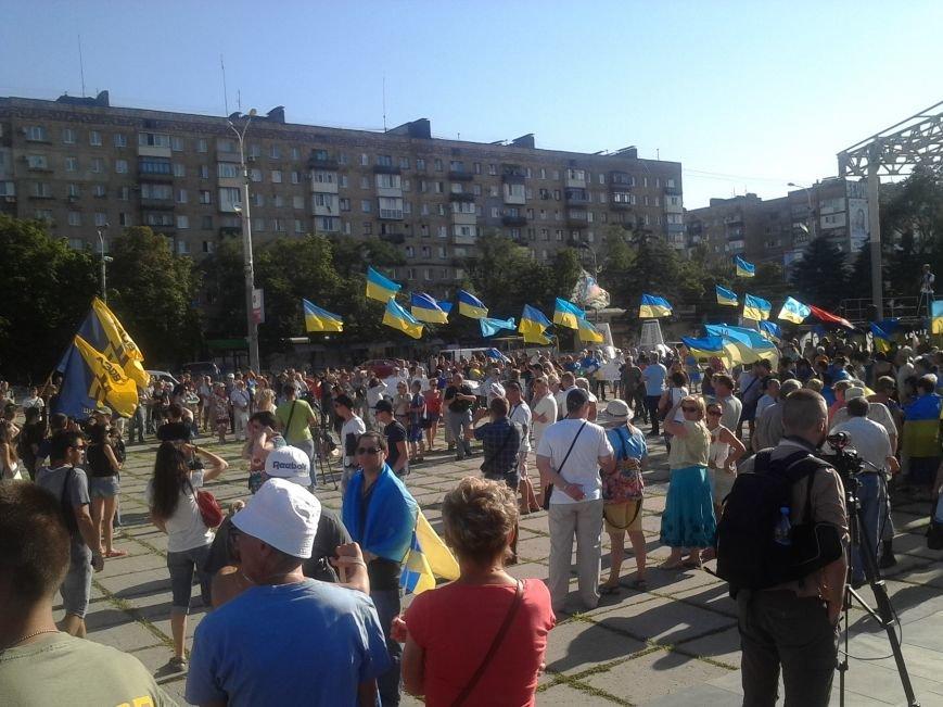 В Мариуполе прошел митинг против демилитаризации Широкино (ФОТО+ВИДЕО), фото-6