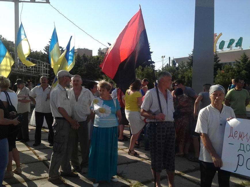 В Мариуполе прошел митинг против демилитаризации Широкино (ФОТО+ВИДЕО), фото-10