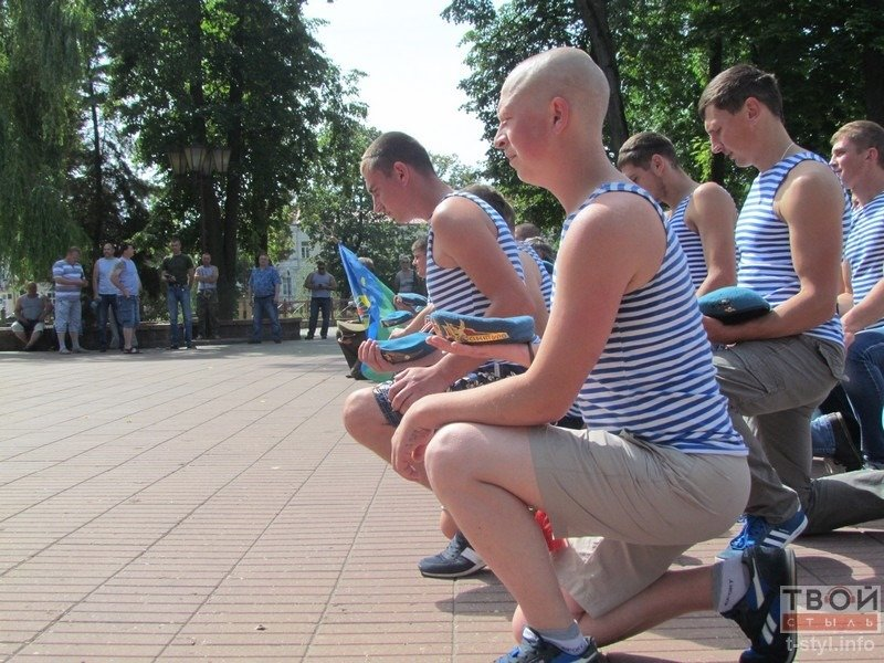 Фоторепортаж: в Гродно отметили День ВДВ (фото) - фото 12