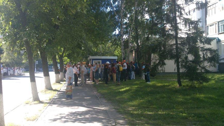 Пикет под УПДМН: работники Нефтехимика требуют отставки руководство Нефтегаза, Укртранснафты и УПДМН (ФОТО), фото-2
