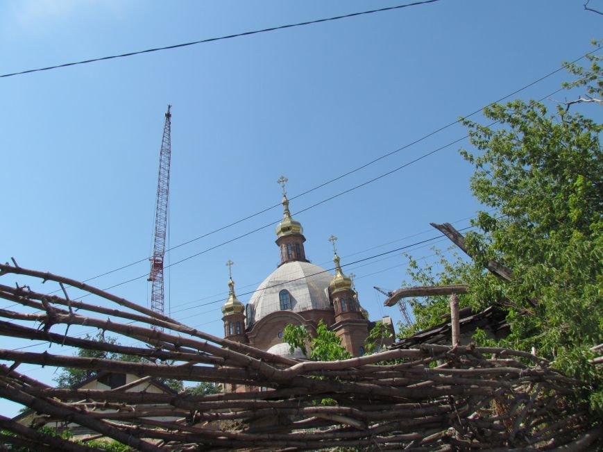 На центральный купол храма в честь Покрова Божьей Матери водружен главный крест (ФОТО), фото-3