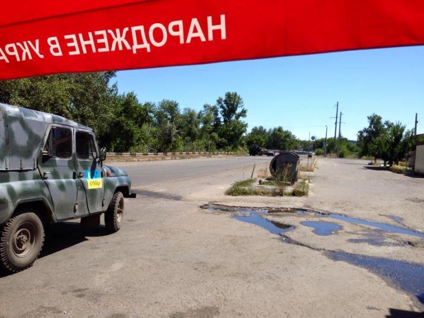 В Луганской области десантники устроили взаимные «поздравления», фото-1
