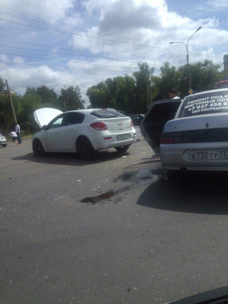 В Ульяновске в аварии пострадали мать с ребенком (фото) - фото 1