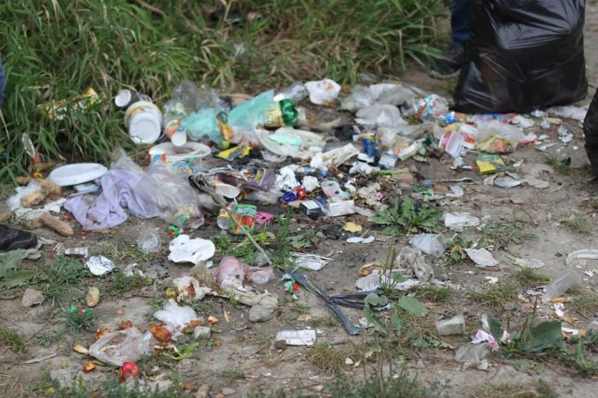 Буковинські студенти почистили від сміття берег Прута (фото) - фото 1