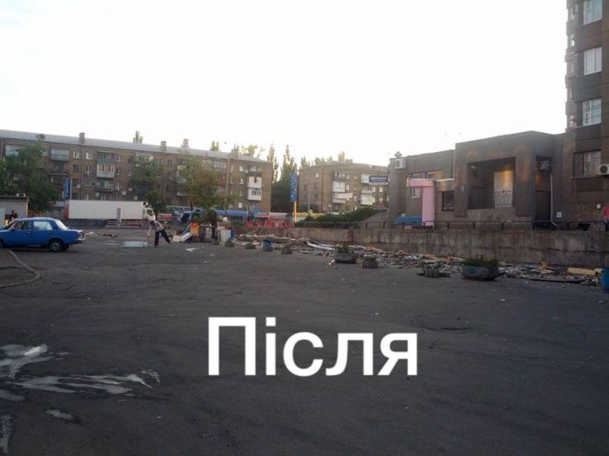 В Киеве на пр. Победы демонтировали МАФы (ФОТОФАКТ), фото-2
