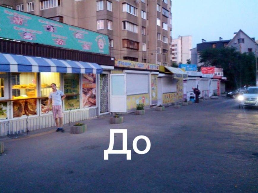 В Киеве на пр. Победы демонтировали МАФы (ФОТОФАКТ), фото-1