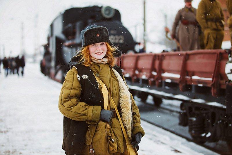 1.1 Попова Наталья Юная партизанка