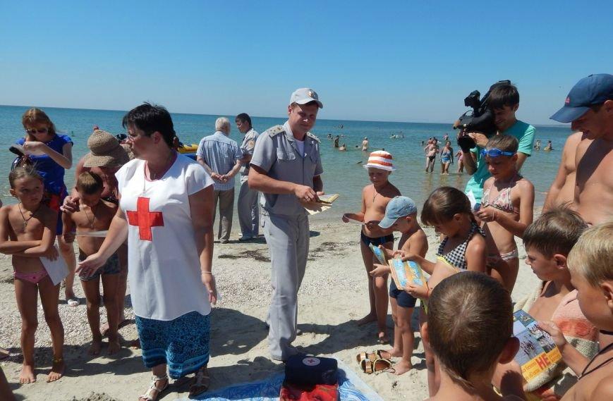 Красный Крест Бердянска провел рейды на пляжах города, фото-3
