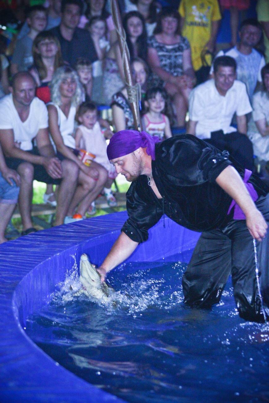 Днепропетровск встречает цирк на воде возле Каравана, фото-3