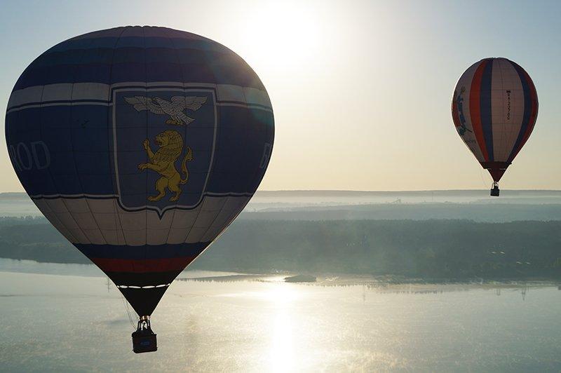 В одной корзине. Как тамбовские аэронавты стали товарищами корреспонденту Go31.ru (фото) - фото 3