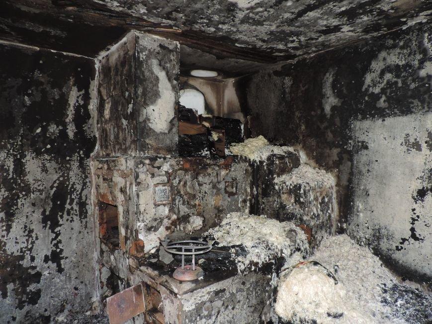 Пожар в великовечном (фото) - фото 1