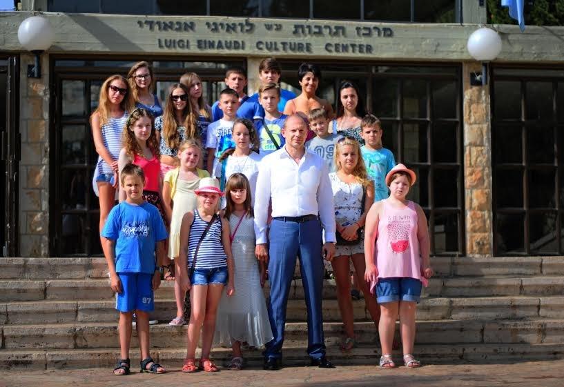 Ізраїль тепло прийняв дітей учасників АТО із України (ФОТО) (фото) - фото 3
