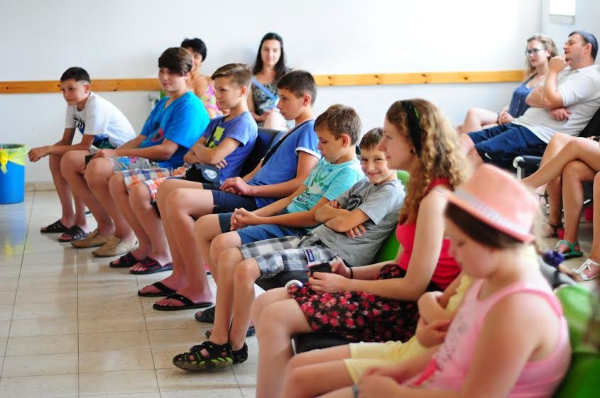 Ізраїль тепло прийняв дітей учасників АТО із України (ФОТО) (фото) - фото 1