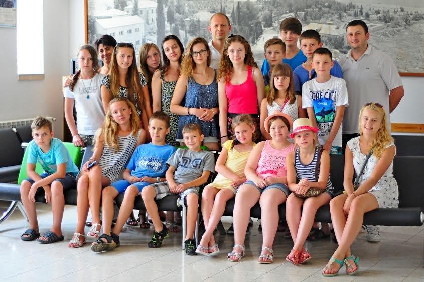 Ізраїль тепло прийняв дітей учасників АТО із України (ФОТО) (фото) - фото 2
