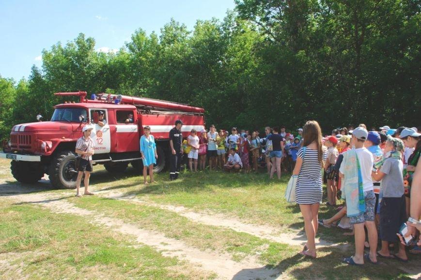 Конотопські рятувальники провели навчання з дітьми у оздоровчих таборах, фото-1