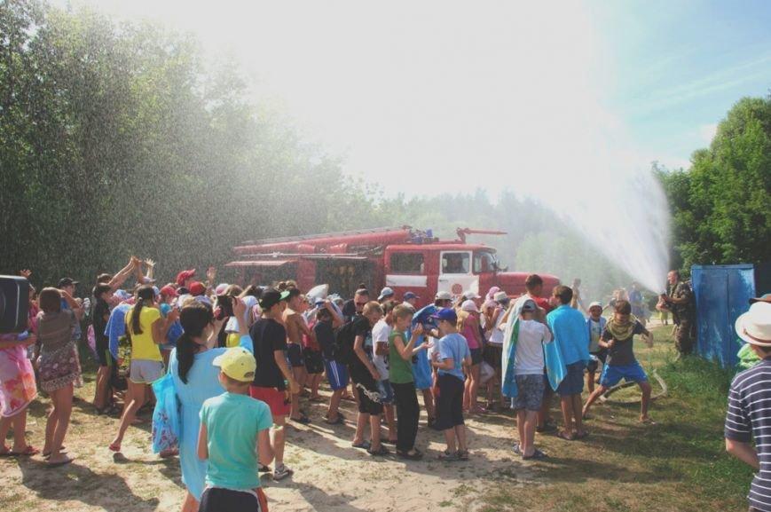 Конотопські рятувальники провели навчання з дітьми у оздоровчих таборах, фото-3