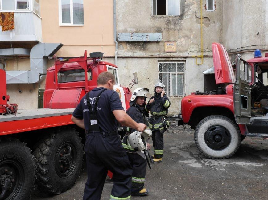 Що стало причиною пожежі у центрі Тернополя (фоторепортаж) (фото) - фото 1
