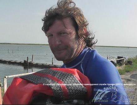 В Азовском море пограничники спасли мужчину (ФОТО), фото-1