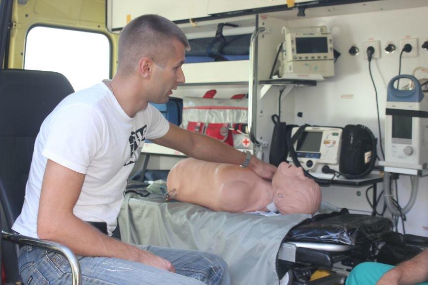 Вчера на ульяновские дороги вышли медики и МЧСники (фото) - фото 3