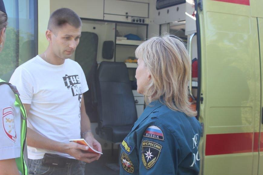 Вчера на ульяновские дороги вышли медики и МЧСники (фото) - фото 4
