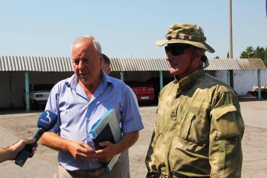 Сумской НАУ передал автомобиль отряду территориальной обороны (ФОТО) (фото) - фото 1