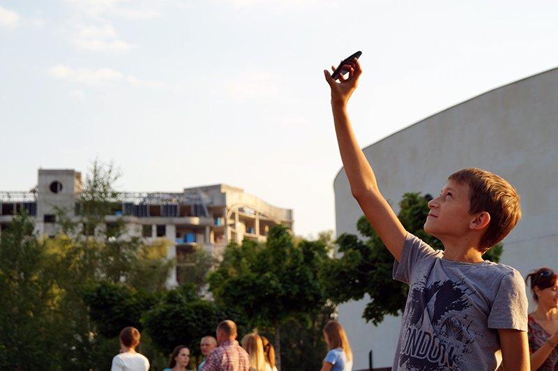 В День города в небо над Белгородом поднялись аэростаты (фото) - фото 1