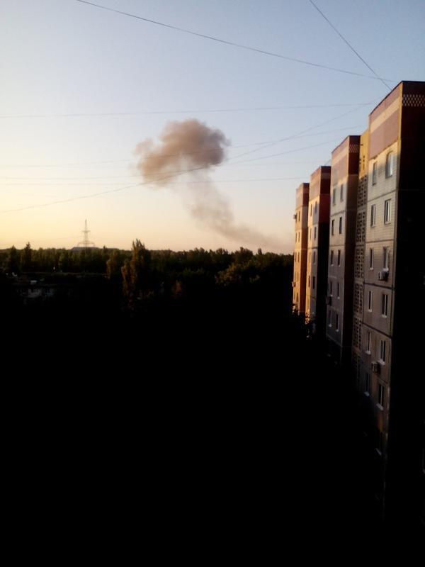 В Донецке снова мощный взрыв в районе завода химизделий (фото, видео) (фото) - фото 3